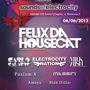 Time-Table Sound of Electrocity with Felix Da Housecat